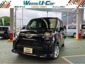 トヨタ ルーミー G 助手席リフトアップシート 登録済未使用車 パノラミックビューモニター 衝突被害軽減システム ETC2.0 両側電動スライドドア スマートキー LEDヘッドランプ