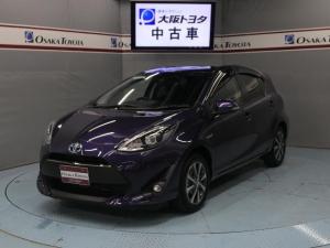 トヨタ アクア S 衝突被害軽減 スマートキー SDナビ バックカメラ