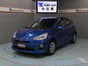 トヨタ アクア S フルセグHDDナビ バックガイドモニター ナビ連動ETC スマートキー