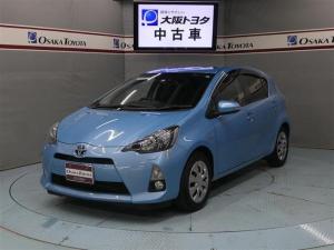 トヨタ アクア G HDDナビ LED スマートキー ETCナビ連動タイプ