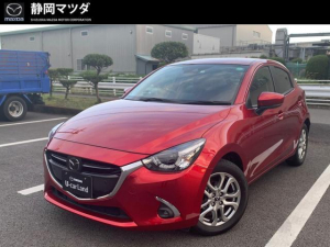 マツダ デミオ XDノーブルクリムゾン 特別仕様車 純正ナビSD・CD/DV