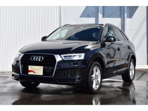 アウディ Q3 1.4T Sport LED AP AT 後期型 認定中古車