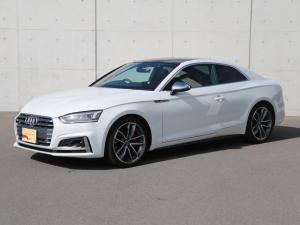 アウディ S5 ベースグレード パノラマサンルーフバーチャルコックピットアシスタンスパッケージレザーパッケージ Audi スマートフォンインターフェイス ヒートインシュレーティング ウィンドシールド