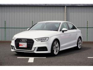 アウディ A3セダン 1.4TFSI スポーツ 禁煙 ワンオーナー ナビ・TV ETC セーフティパッケージ Sライン Audi認定中古車