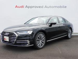アウディ A8 60TFSIクワトロ 認定中古車 Audiデザインセレクション マトリクスLEDヘッドライト パノラミックルーフ アシスタンスパッケージ 20インチアルミ