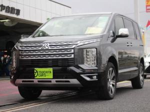 三菱 デリカD:5 4WD P 登録済未使用車 LEDライト両Aドア衝突軽減Bキ