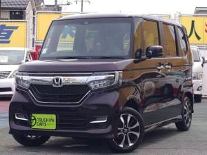 ホンダ N-BOXカスタム G・Lホンダセンシング 届出済未使用車 LEDライト左Aドア