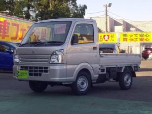 スズキ キャリイトラック 4WD KC 届出済未使用車 エアコン パワステ 5MT 4