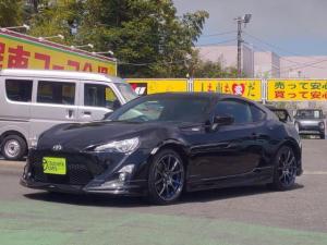 トヨタ 86 GT 6速MTモデリスタエアロ1オーナ禁煙車HID柿本マフラ外18