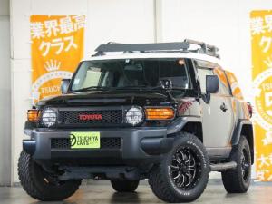 トヨタ FJクルーザー ブラックカラーパッケージ 12セグMナビBカメラETCキーレス クルコン コーナーセン