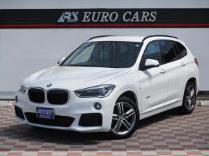 BMW X1 sDrive 18i Mスポーツ ワンオーナー禁煙車インテリジェントセーフティ純正HDDナビバックカメラETC前後コーナーセンサースマートキー純正18アルミキセノン