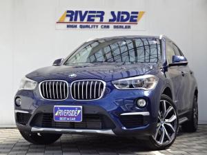 BMW X1 xDrive 20i xライン 純正ナビBカメラETC本革シートパワーバックドアLEDライトコーナーセンサー純正19インチアルミパーキングアシスト