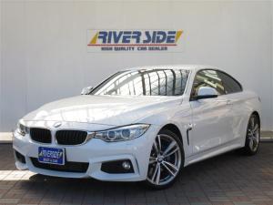 BMW 4シリーズ 420iクーペ Mスポーツ 1オーナー 純正ナビ 地デジ Bカメラ HID コーナーセンサー 19AW 電動シート