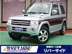 三菱 パジェロミニ エクシード 記録簿 バックカメラ 4WD ナビ&TV