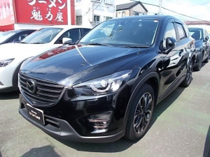 マツダ CX-5 2.2 XD L-pkg Dターボ 4WD 6AT 黒本革