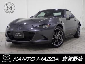 マツダ ロードスターRF 2.0 VS バーガンディ- セレクション ナビ・衝突軽減B