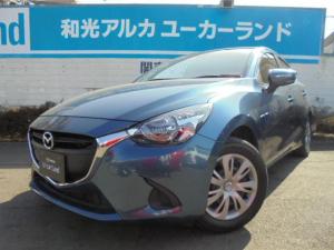 マツダ デミオ 1.3 13S Bluetooth レンタカー使用車