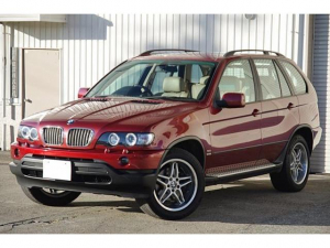 BMW BMW X5 3.0i 4WD ブレイトン19inアルミ イカリングHID