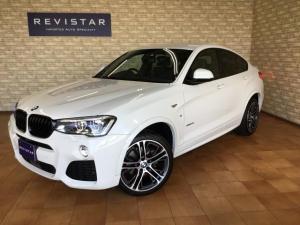 BMW X4 xDrive28iMスポーツ・車追突回避車・黒革・ナビTV