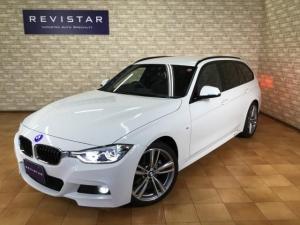 BMW 3シリーズ 320dツーリングMスポーツ・追突回避車・ACC・ナビ・TV