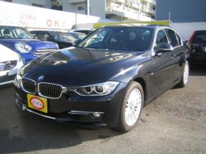 BMW 3シリーズ 320iラグジュアリー 黒革シート 純正ナビ バックカメラ