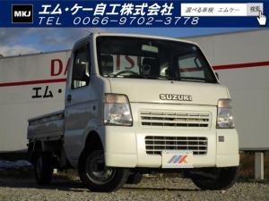 スズキ キャリイトラック KCエアコン・パワステ 2WD 5MT 3方開