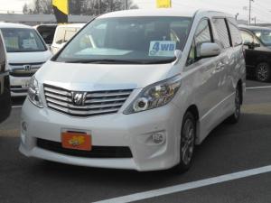 トヨタ アルファード 240S プライムセレクションII 7人乗 4WD ナビTV