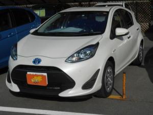 トヨタ アクア Sスタイルブラック セーフティセンス スマートキー 鑑定付