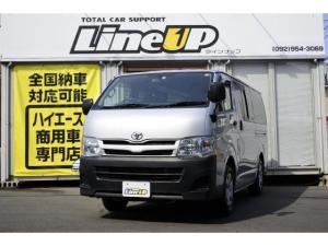トヨタ ハイエースバン ロングDX 1年間1万キロ無償保証 3型 ETC CD再生