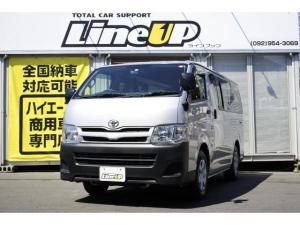 トヨタ ハイエースバン ロングDX 1年間1万キロ無償保証 3型 キーレス ETC