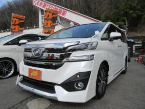 トヨタ ヴェルファイア V 4WD 7人乗 SDナビ フルセグTV オートクルーズ