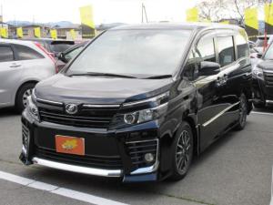 トヨタ ヴォクシー ZS 4WD 7人乗 メモリーナビ フルセグTV ETC