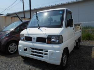 日産 NT100クリッパートラック 垂直ゲート付・4WD