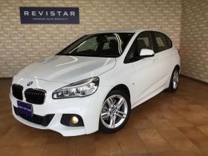 BMW 2シリーズ 218iアクティブツアラーMスポーツ・追突回避車・ナビ