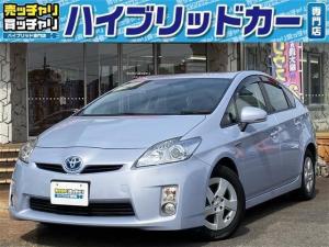 トヨタ プリウス S 純正SDナビ・地デジTV・DVD再生可 バックモニター