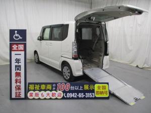ホンダ N-BOX+ スロープ1台積4人乗り 福祉車両 一年保証