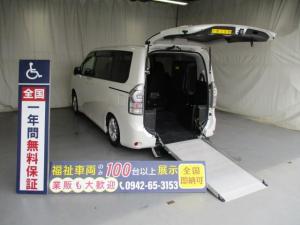 トヨタ ヴォクシー スロープ1台積7人乗り 福祉車両 一年保証