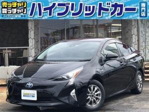 トヨタ プリウス S トヨタセーフティセンス 純正ナビ・フルセグ・DVD-V