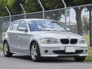BMW 1シリーズ 116i 社外16インチアルミ ドラレコ ナビ ETC