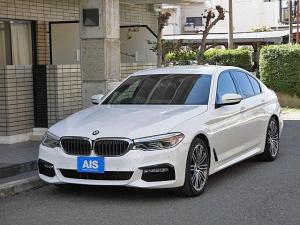 BMW 5シリーズ 523i Mスポーツ 純正ナビ フルセグTV インテリジェントセーフティー アクティブクルーズコントロール 360°カメラ オートトランク 純正19インチAW