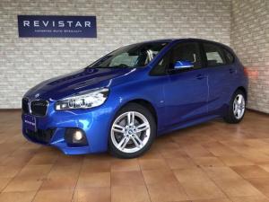 BMW 2シリーズ 218iアクティブツアラー Mスポーツ 追突軽減車・車線逸脱警告車・LEDヘッドライト・アイドリングスイッチ・ナビ・Bluetooth・DVD再生・CD・SUB・ETC