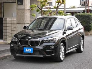 BMW X1 xDrive 18d クリーンディーゼル 4WD 純正ナビ インテリジェントセーフティー バックカメラ パークディスタンスコントロール コンフォートアクセス 17インチAW
