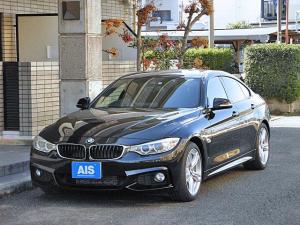 BMW 4シリーズ 420iグランクーペ Mスポーツ 純正ナビ フルセグTV コンフォートアクセス インテリジェントセーフティ オートリアゲート 純正18インチAW