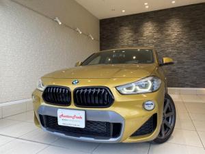 BMW X2 xDrive 18d MスポーツX ハイラインPKG HDDナビ ENKEI19インチAW スマートキー バックカメラ アイドリングストップ 革シート パワーシート シートヒーター パワーリアゲート MTモード付き