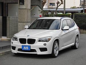 BMW X1 sDrive 18i Mスポーツパッケージ ナビ TV ルームミラーETC コンフォートアクセス キセノンヘッドライト オートライト 18インチAW