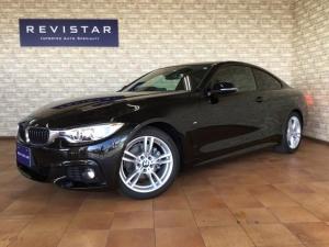 BMW 4シリーズ 420iクーペ Mスポーツ インテリジェントセフティ・ナビ・バックカメラ・コーナーセンサー・Bluetooth・DVD再生・CD・ETC・USB・追突回避軽減・アダクティブクルーズコントロール・コンフォートアクセス