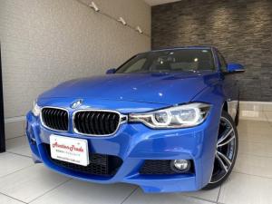 BMW 3シリーズ 318i Mスポーツ Pシート クルコン 軽減ブレーキ 車線逸脱防止 レーンアシスト ブラインドスポット クリアランスソナー Bカメラ アダプティブサスペンション Mブレーキキャリパー 19インチAW アイドリングストップ
