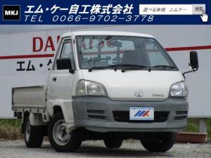 トヨタ タウンエーストラック DX 5MT エアコン パワステ 3方開 ABS エアバック 750KG ETC ドアバイザー
