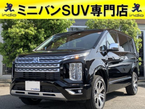 三菱 デリカD:5 P 登録済未使用車 4WD ディーゼル 両側電動スライド パワーシート シートヒーター ステアリングヒーター
