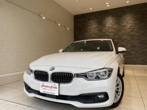 BMW 3シリーズ 320d ワンオーナー HDDナビ バックカメラ アダプティブクルーズコントロール レーンキープアシスト 16インチAW アイドリングストップ LEDヘッドライト スマートキー MTモード付き ETC